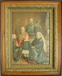 Queen Victoria Kings Edward VII George V Edward VIII