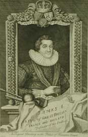 James 1of england VI of Scotland